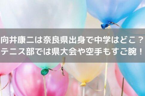 向井康二奈良中学校